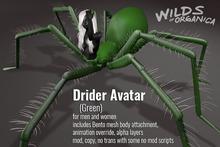 [ WoO ] Drider Avatar - GREEN