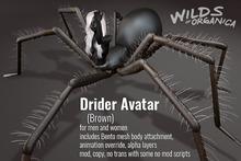 [ WoO ] Drider Avatar - BROWN