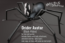 [ WoO ] Drider Avatar - BLACK WIDOW