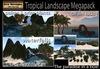 PROMO  1000 OFF!!Tropical Landscape Megapack -off sim - palm trees - sea rocks - landscaping