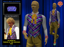 WW 6th Doctor Outfit 1