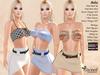 Sweet Nuka Outfit - Maitreya - Slink Physique & Hourglass - Belleza Venus, Isis & Freya - 14 Textures Mix&Match