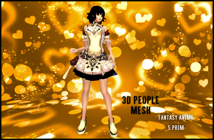 MESH PEOPLE - Fantasy Anime