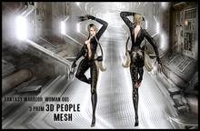 MESH PEOPLE - Fantasy Warrior_woman 001
