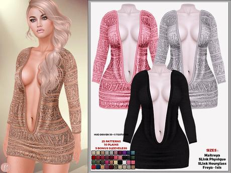 Second Life Marketplace Hh Lavelle Mini Dress