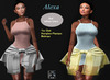 Lotus- Alexa-Dress & HipShirt-Maitreya Slink-Hourglass Physique