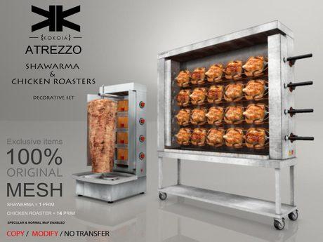 Atrezzo :: Shawarma and Chicken Roasters :: {kokoia}