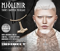 !NFINITY Mjollnir Necklace (add/wear)