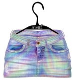 .WINGED. Jennie Jeans Shorts II Holo