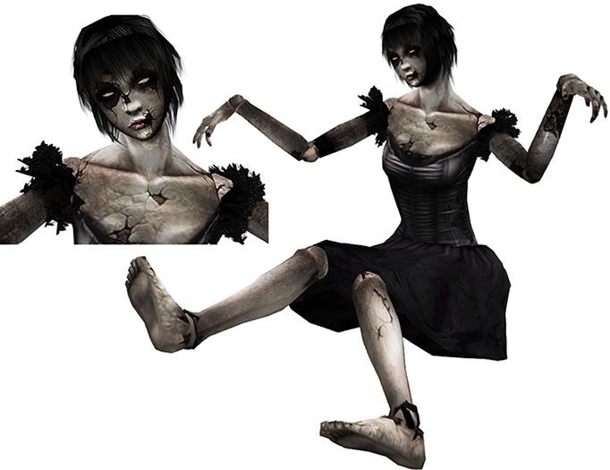 Black Doll_Sitting