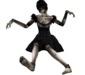 Black doll sitting pic