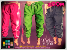 zOOm - Tila Sweatpants with HUD Textures!!