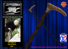 WW 1st Doctor Walking Stick V3