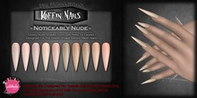 DP - Koffin Nails - Astralia Stiletto - Noticeably Nude (Box)