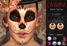 Mad' - Catrina FaceTattoo [APPLIERS + Tattoo]