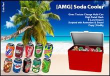 AMG - Soda Cooler [Cola Red]