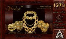 *DM* Medea Ancient Greek Romani Jitan Arabic Atheniang jewelry set old