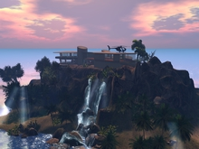 iron man waterfall 73 prims