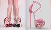 [BREATHE]-Naomi Heels-Rose Pink-(for Slink High Feet & Maitreya Lara & Belleza)