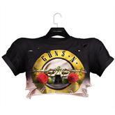 .:villena:. - Torn Cropped Shirt - GnR Dip