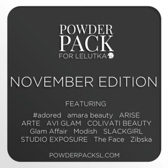 Powder Pack for LeLutka November Edition