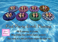 {.Gross Princess.} Pool Party Drink Floaties