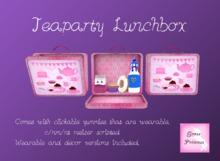 {.Gross Princess.} TeaParty Lunchbox