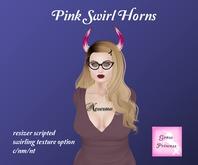 {.Gross Princess.} Pink Swirl Horns *Retiring*