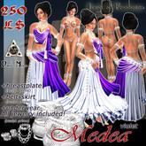 *DM* Medea violet - for Ancient Greek Romani Jitan Arabic Athenian Goddess