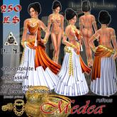 *DM* Medea rufous - for Ancient Greek Romani Jitan Arabic Athenian Goddess