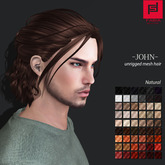 -FABIA- Mesh Hair  <John> Natural Tones