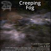 [DDD] Creeping Fog - Subtly Moving, Realistic Mist Mesh Clouds