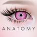 ANATOMY -  Circle Lens - Light Pink