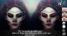 W6 los muertos face tattoos girls