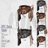 *OAL* RPG Belts M Blk Cook