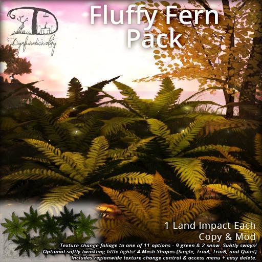 [DDD] Fluffy Ferns - Moving & Twinkling & Tex. Change Regionwide