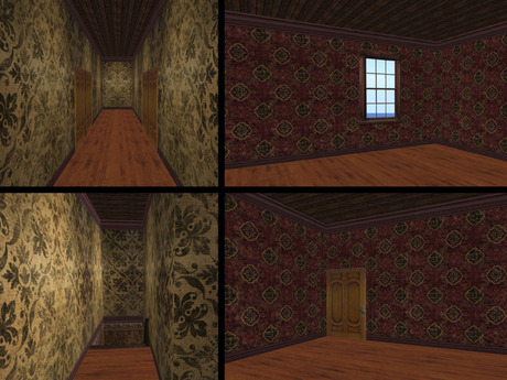 Second Life Marketplace Re Grand Haunted Mansion Hotel 3 Story Haunted House Old West Victorian Western Vampire