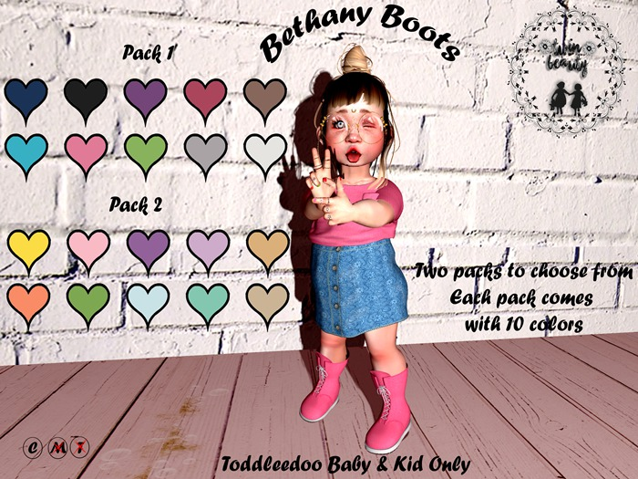 ~*TB*~ Bethany Boots - PACK 1