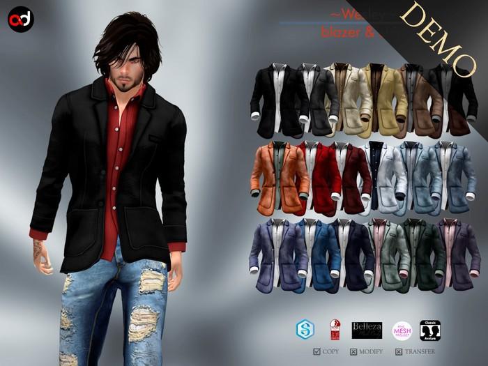 A&D Clothing - Blazer -Wesley-  DEMOs