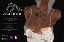 Waldorf Design. Spell  Tattoo {Gift}