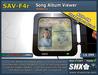 CD Cover & Album Song viewer SHX-SAV-F4r