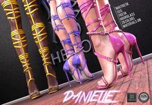 Phedora ~ Danielle Strappy heels ~ 28 C.