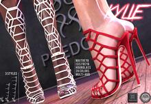 Phedora ~ Kylie heels ~ 28 C.