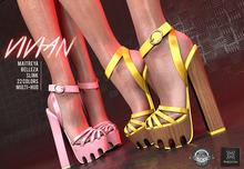 Phedora ~ Vivian Platforms  (22 colors )