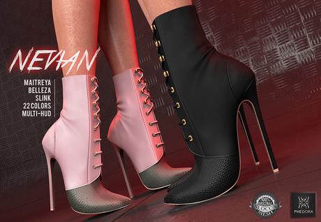 Phedora ~  Nevian Boots  (22 colors )