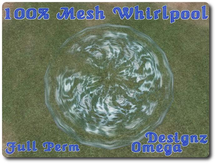 100% Mesh Whirlpool Full Perm
