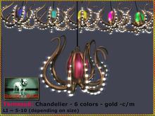 Bliensen + MaiTai - Tornasuk - Octopus Chandelier - 6 colours