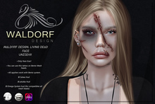 Waldorf Design. Living Dead Face Tattoo