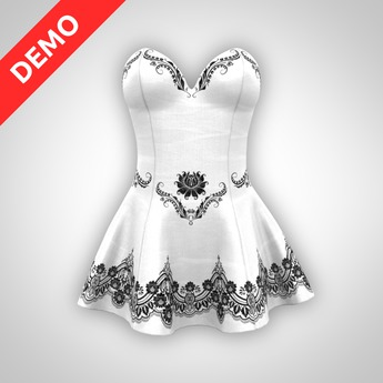 ANOIRCRE Sombre Dress DEMO
