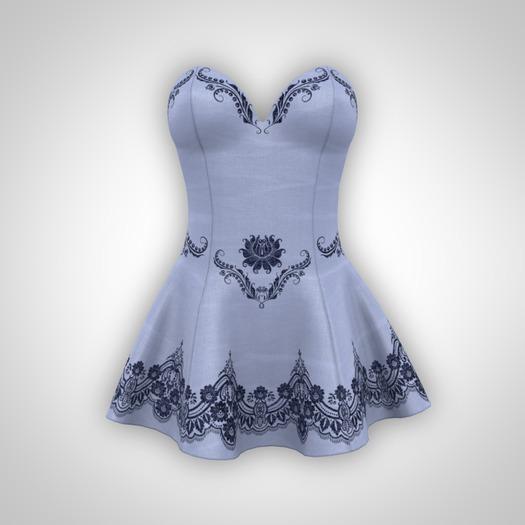 ANOIRCRE Sombre Dress LightBlue (Mesh)